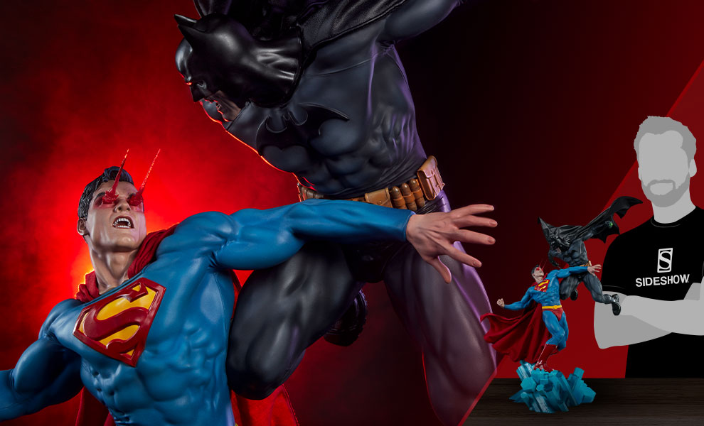Gallery Feature Image of Batman vs Superman Diorama - Click to open image gallery