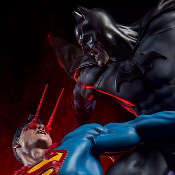 Batman vs Superman DC Comics Diorama