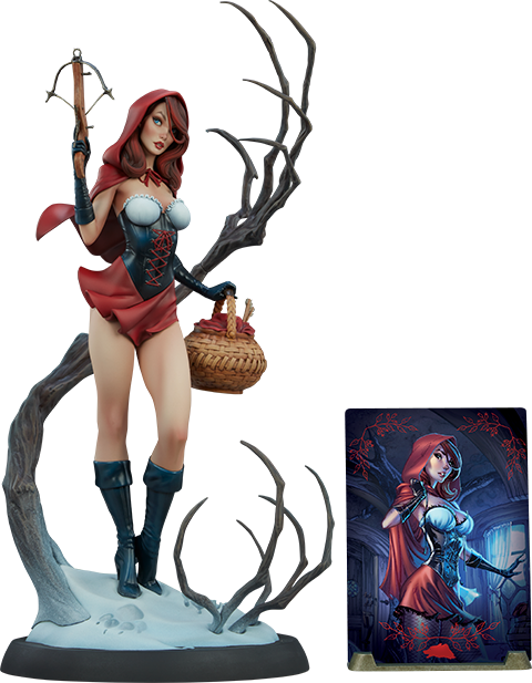 Sideshow Collectibles Red Riding Hood Statue
