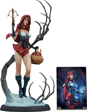 Red Riding Hood Statue