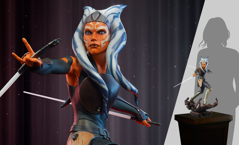 Gallery Feature Image of Ahsoka Tano Premium Format™ Figure - Click to open image gallery