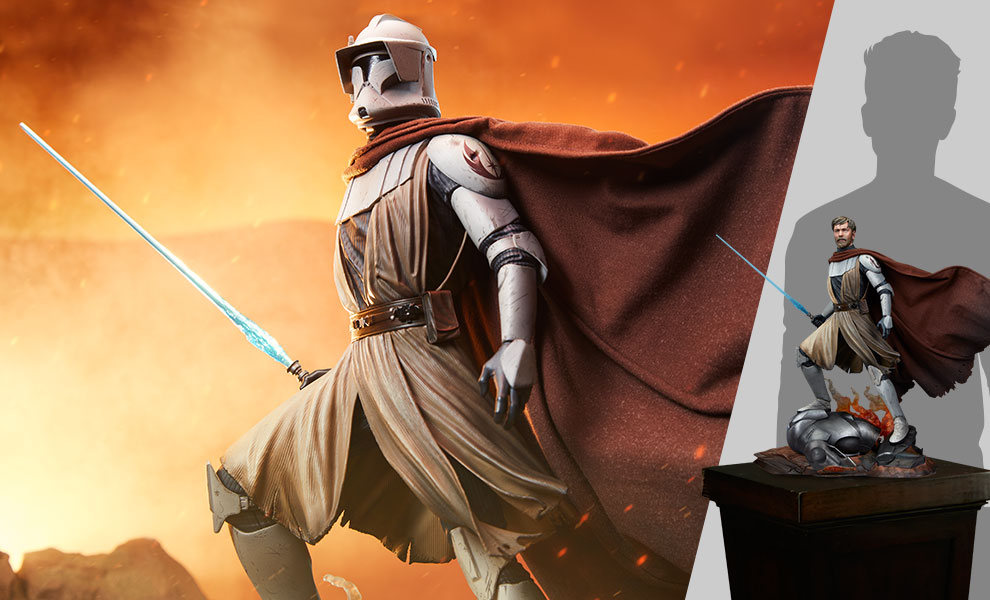 Gallery Feature Image of General Obi-Wan Kenobi™ Mythos Statue - Click to open image gallery