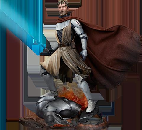 Sideshow Collectibles General Obi-Wan Kenobi™ Mythos Statue