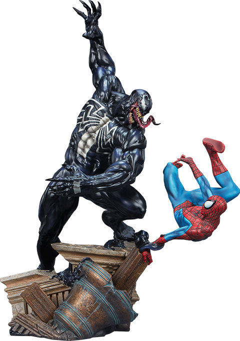 Sideshow Collectibles Spider-Man vs Venom Maquette