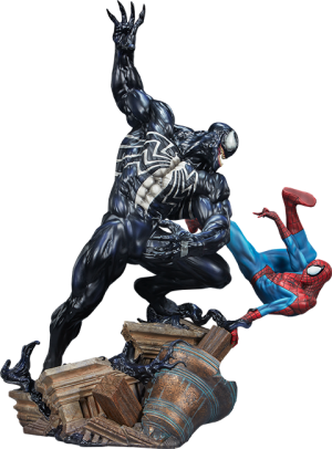 Spider-Man vs Venom Maquette