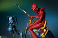 Gallery Image of William Stout's Red Rider Statue
