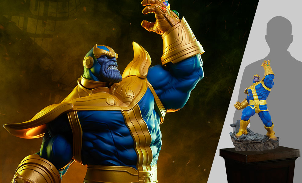 Gallery Feature Image of Thanos (Classic Version) Statue - Click to open image gallery