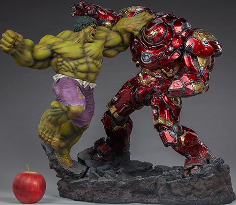 Sideshow Collectibles Hulk vs Hulkbuster Maquette