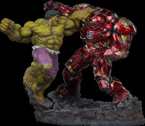 Hulk vs Hulkbuster Maquette