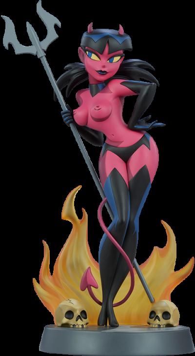 Devil Girl Statue