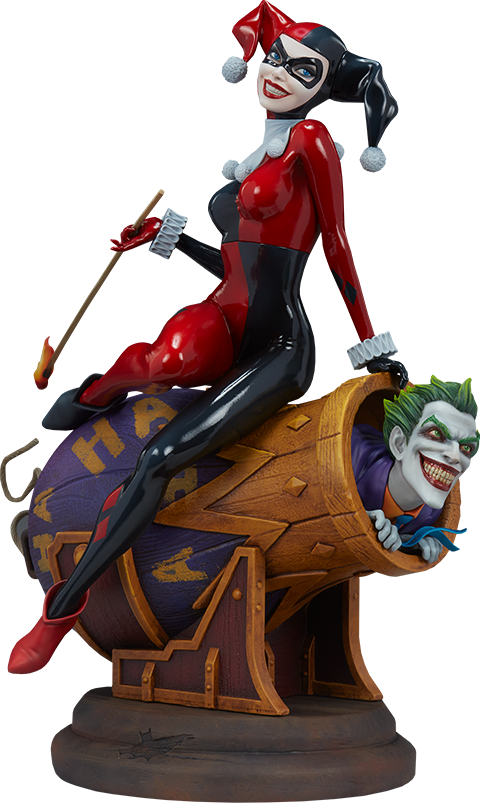 Sideshow Collectibles Harley Quinn and The Joker Diorama