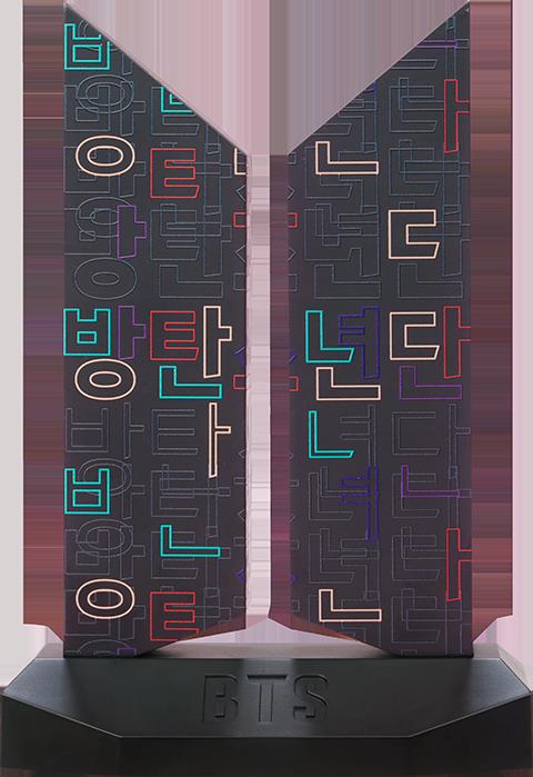 Sideshow Collectibles Premium BTS Logo: Hangeul Edition Replica