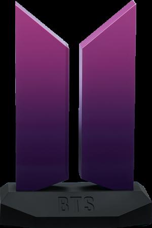 Premium BTS Logo: The Color of Love Edition Replica
