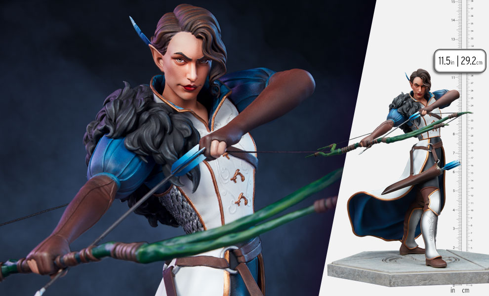 Gallery Feature Image of Vex - Vox Machina Statue - Click to open image gallery