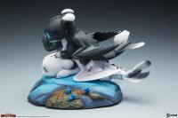 Gallery Image of Dart, Pouncer, and Ruffrunner Statue