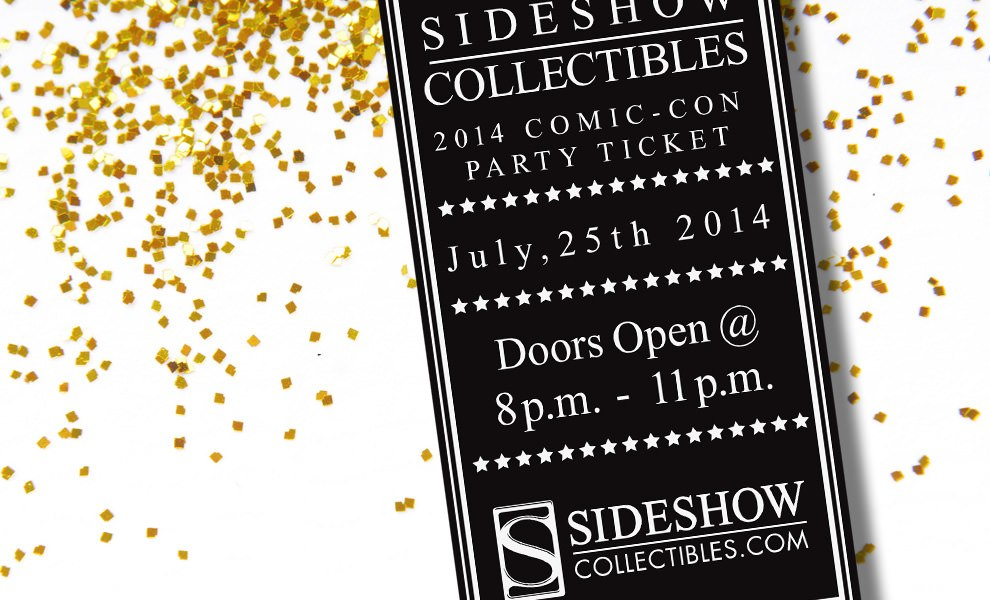 Gallery Feature Image of 2014 Sideshow Comic-Con Party Ticket Ticket - Click to open image gallery