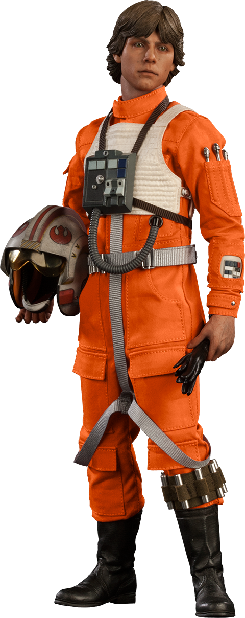 Sideshow Collectibles Luke Skywalker: Red Five X-wing Pilot Sixth Scale Figure