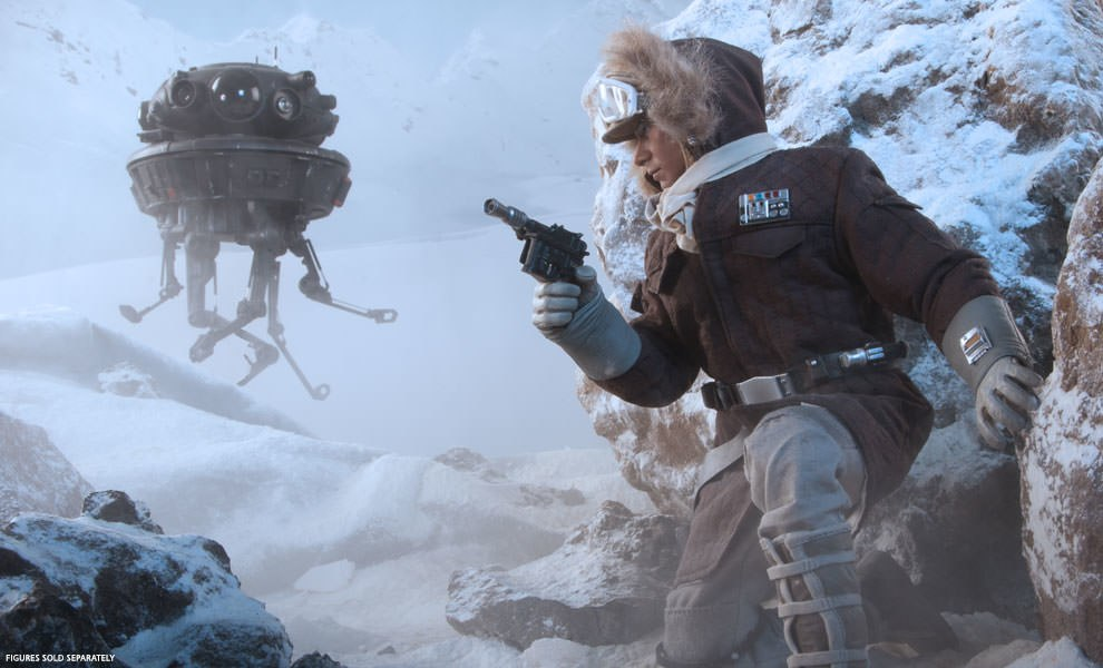 Gallery Feature Image of Captain Han Solo - Hoth Sixth Scale Figure - Click to open image gallery