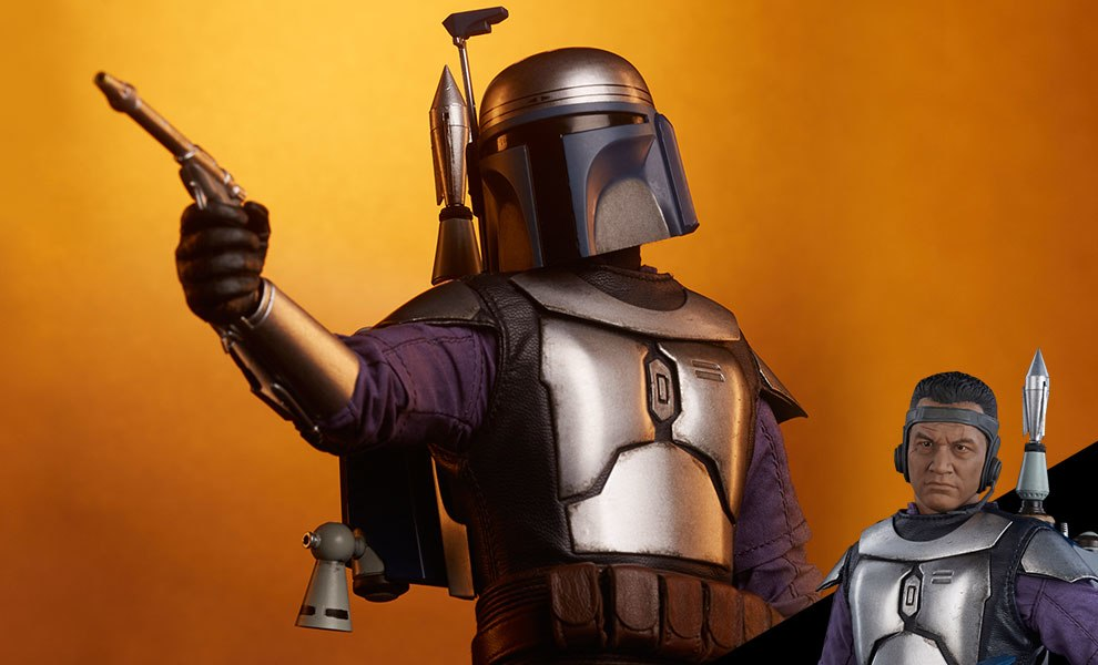 Gallery Feature Image of Jango Fett Sixth Scale Figure - Click to open image gallery