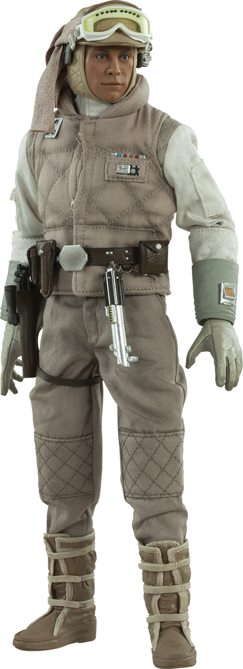 Sideshow Collectibles Commander Luke Skywalker Hoth Sixth Scale Figure
