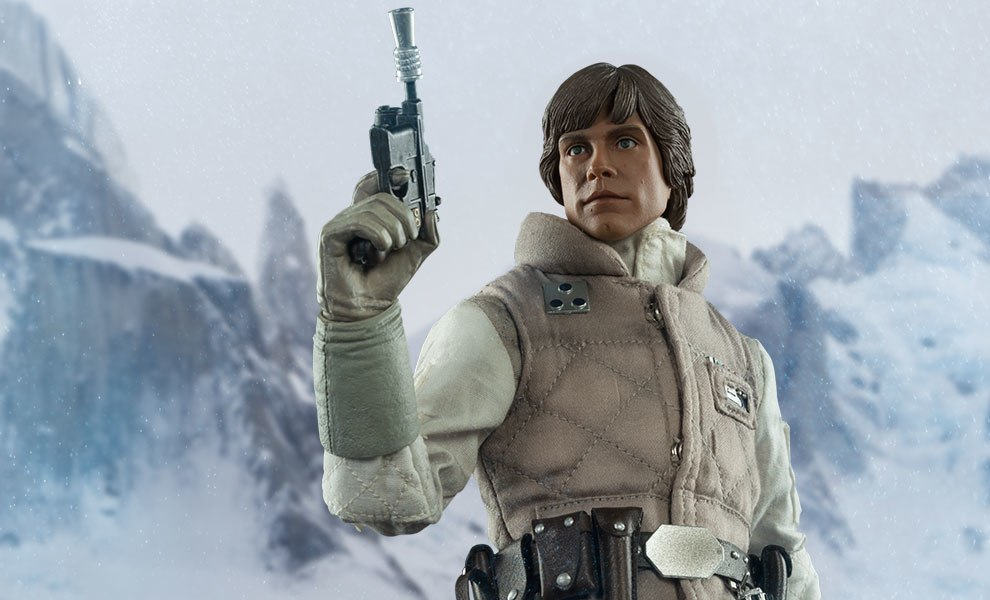 Gallery Feature Image of Commander Luke Skywalker - Hoth Sixth Scale Figure - Click to open image gallery