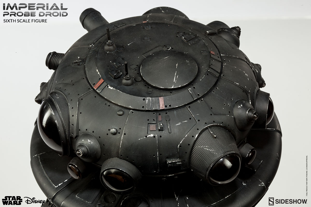 Star Wars Imperial Probe Droid Sixth Scale Figure by Sidesho