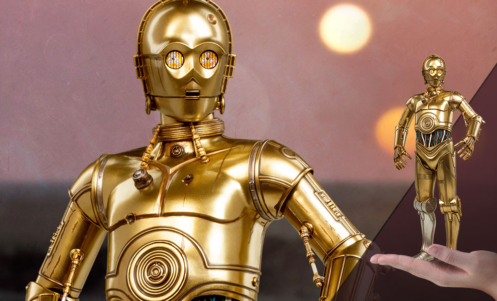 Gallery Feature Image of C-3PO Sixth Scale Figure - Click to open image gallery