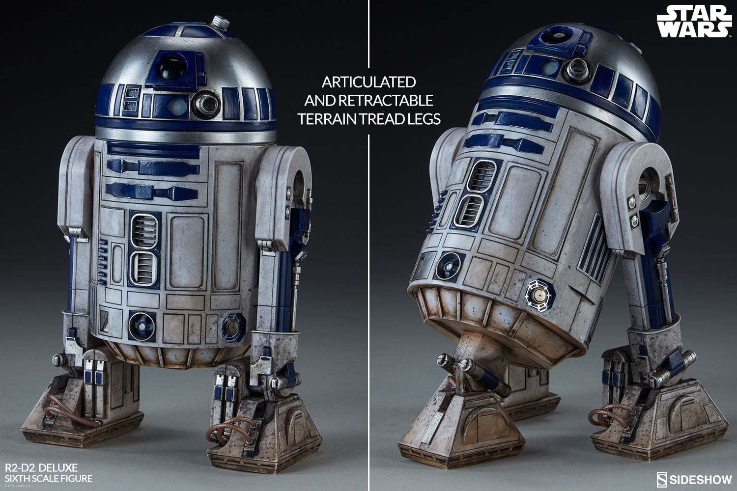 Star Wars R2-D2 Deluxe Sixth Scale Figure by Sideshow Collec
