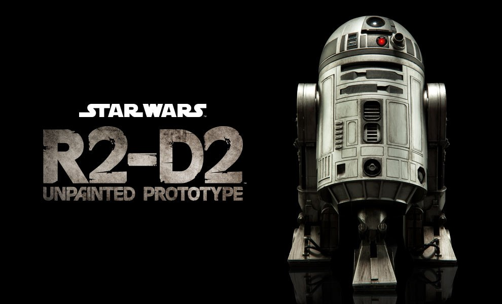 Gallery Feature Image of R2-D2 Unpainted Prototype Sixth Scale Figure - Click to open image gallery