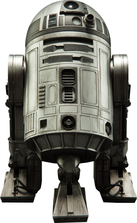 Sideshow Collectibles R2-D2 Unpainted Prototype Sixth Scale Figure