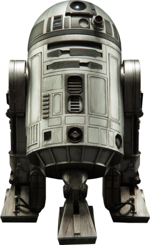 R2-D2 Unpainted Prototype Sixth Scale Figure