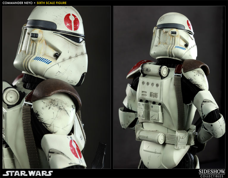 Star Wars Commander Neyo Sixth Scale Figure By Sideshow Collectibles