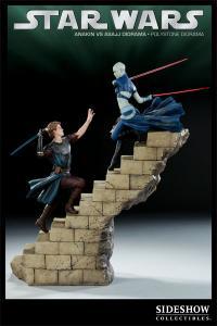 Gallery Image of Anakin VS Asajj Polystone Diorama