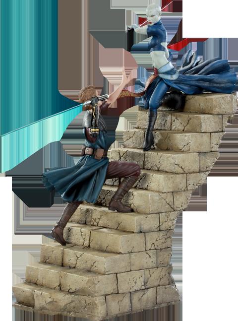 Sideshow Collectibles Anakin VS Asajj Polystone Diorama