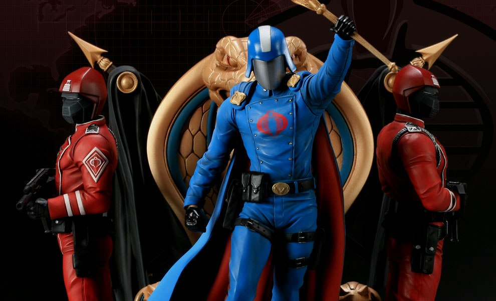 Gallery Feature Image of Cobra Commander Diorama Polystone Diorama - Click to open image gallery