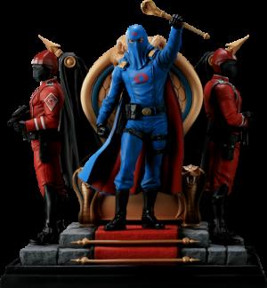 Cobra Commander Diorama Polystone Diorama