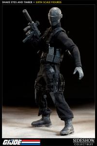 Gallery Image of Snake Eyes and Timber Sixth Scale Figure
