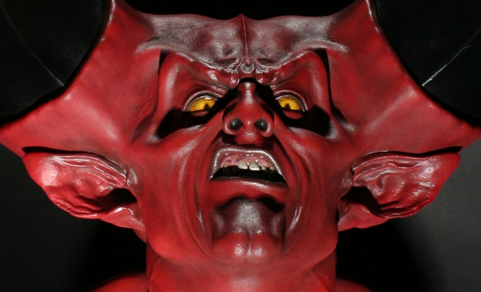Gallery Feature Image of The Lord of Darkness Life-Size Bust - Click to open image gallery