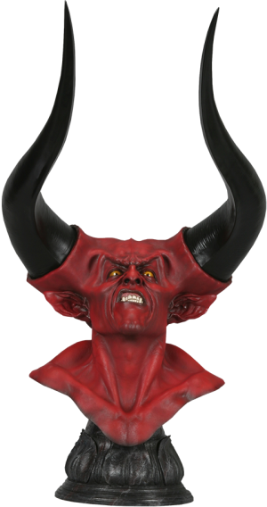 The Lord of Darkness Life-Size Bust