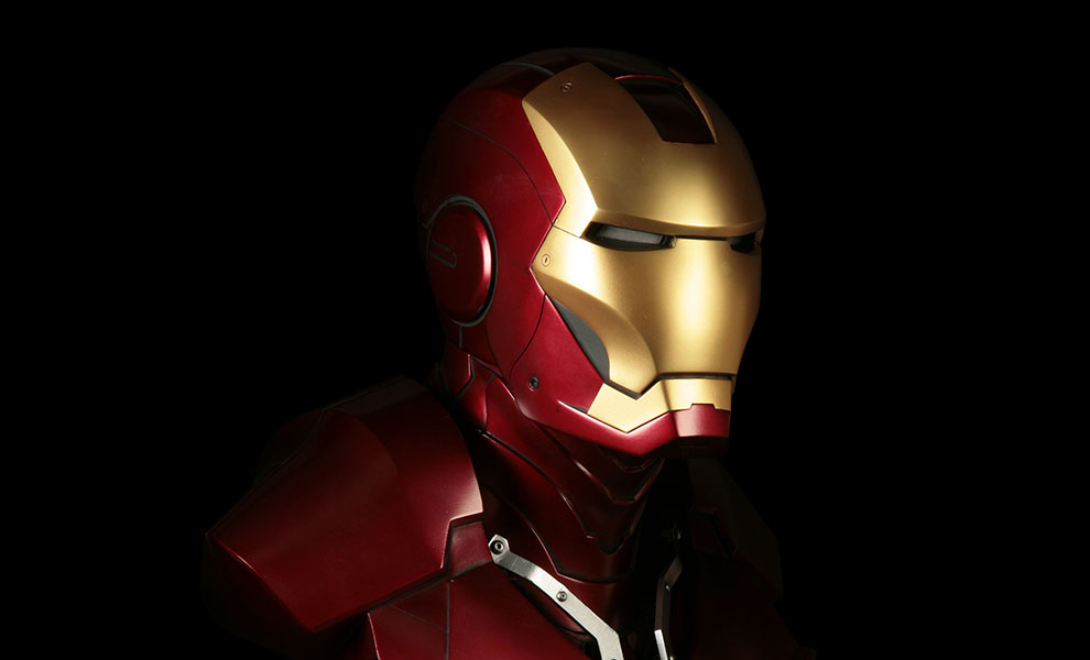 Gallery Feature Image of Iron Man Life-Size Bust - Click to open image gallery