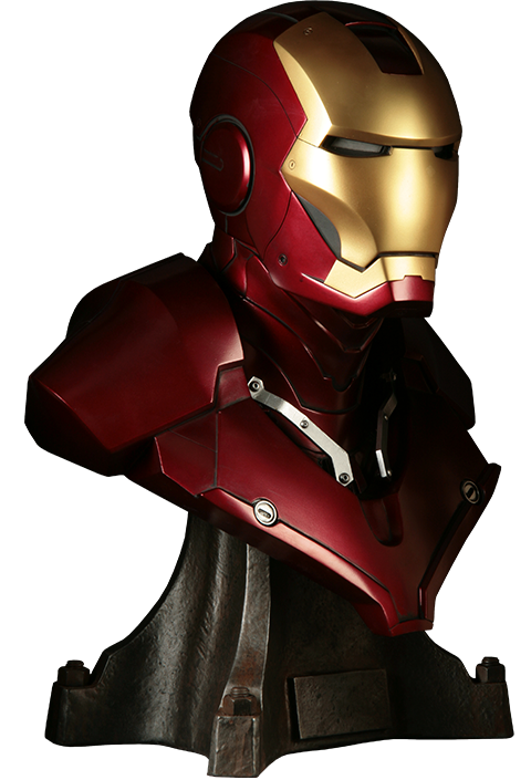 Sideshow Collectibles Iron Man Life-Size Bust