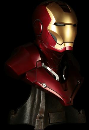Iron Man Life-Size Bust