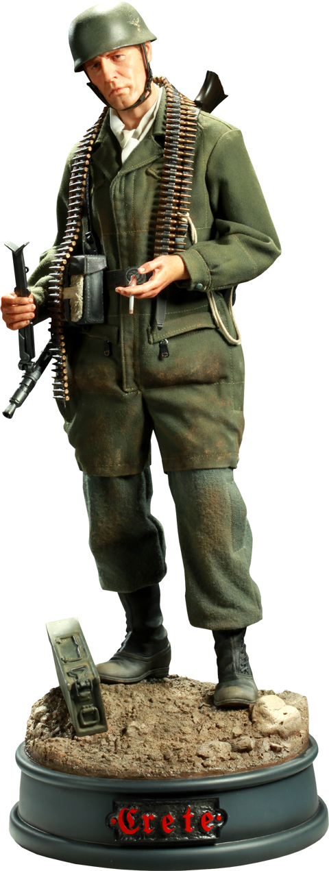 Sideshow Collectibles Battle of Crete: German Paratrooper Premium Format™ Figure