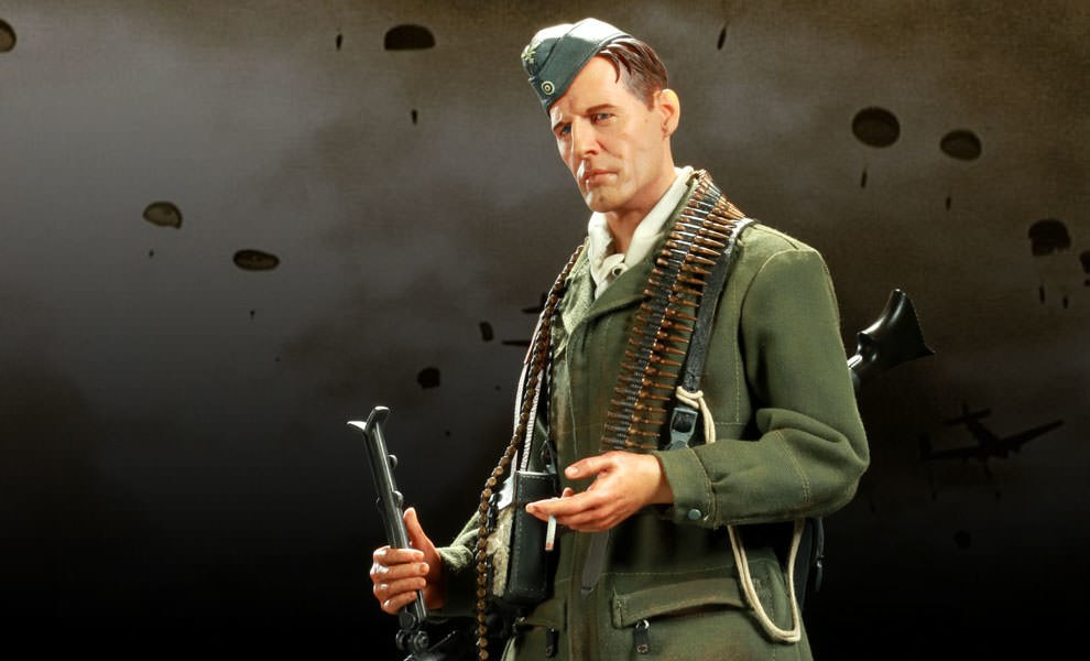 Gallery Feature Image of Battle of Crete: German Paratrooper Premium Format™ Figure - Click to open image gallery