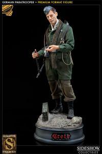 Gallery Image of Battle of Crete: German Paratrooper Premium Format™ Figure