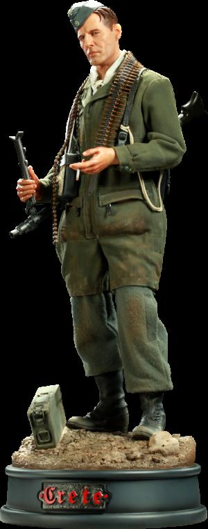 Battle of Crete: German Paratrooper Premium Format™ Figure