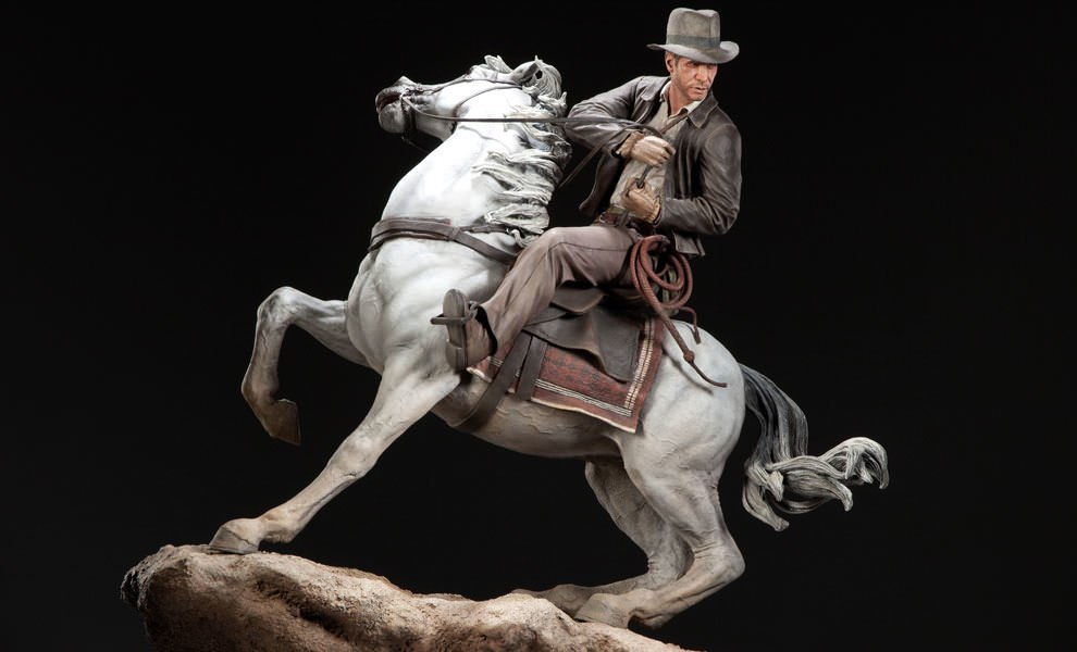 Gallery Feature Image of Indiana Jones 'Pursuit of the Ark' Polystone Statue - Click to open image gallery