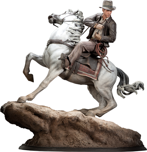 Sideshow Collectibles Indiana Jones 'Pursuit of the Ark' Polystone Statue