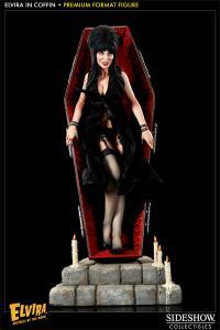 Gallery Image of Elvira in Coffin Premium Format™ Figure