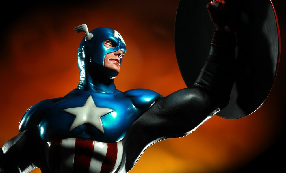 Gallery Feature Image of Captain America - James 'Bucky' Barnes Premium Format™ Figure - Click to open image gallery